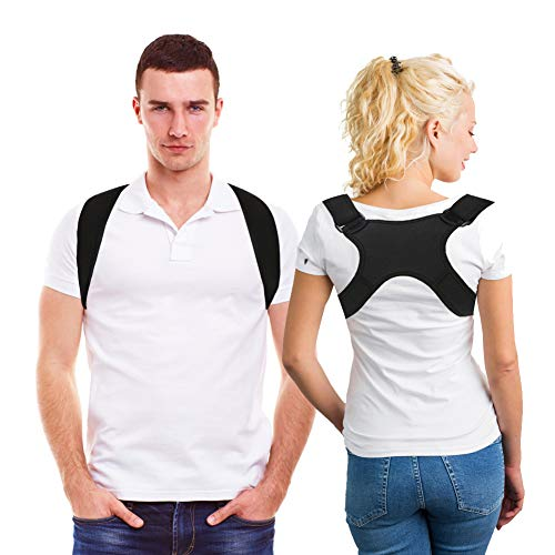 Corrector de postura espalda y hombros, soporte de espalda recta, faja correctora de postura, recta postura sentada para mujeres y hombres