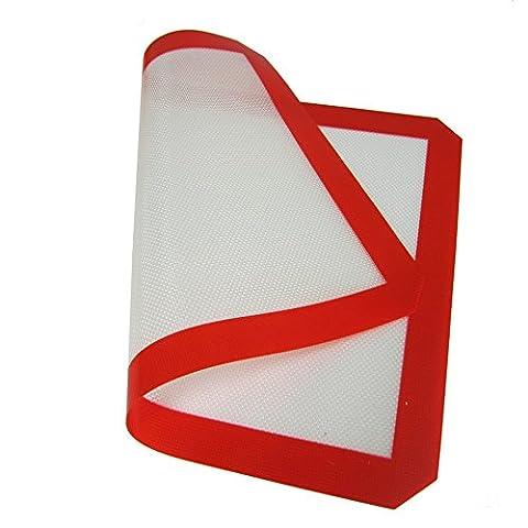 Haosen 2 Stücke / Satz 30 * 21cm Silikon backmatte