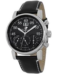 Burgmeister Montreal BM112-122 - Reloj de caballero automático, correa de piel color negro
