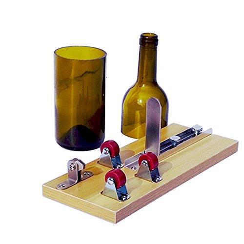 Cortador de Botellas de Vidrio, Herramienta de Corte para Cortar Botellas de Vidrio, Cortar las botellas largas para Crear Manualidades Esculturas de Vidrio, Candelero, Florero - Glass Bottle Cutter