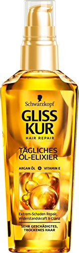 Schwarzkopf Gliss Kur, Öl-Elixier Ultimate Repair, 75 ml