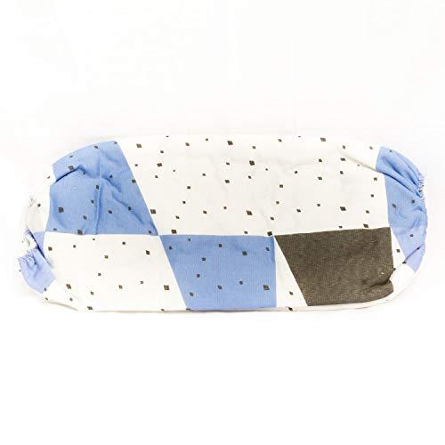 Clean house Housse à Repasser T3 Duo - De 121 à 130 cm - Triangle Bleu carré Noir