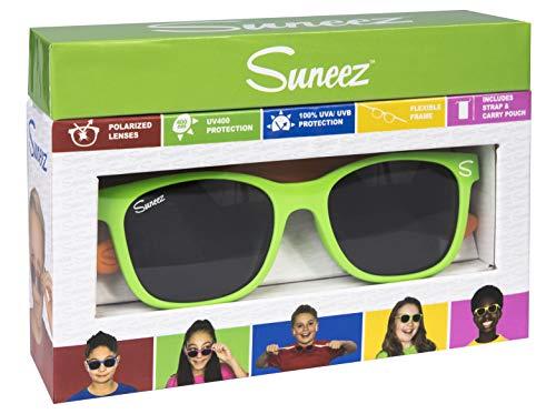 Wicked Unisex-Kinder Vedra Sonnenbrille, Mehrfarbig (Green/Orange), 49