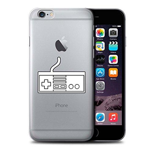 Stuff4 Hülle / Case für Apple iPhone 6S / Weiß N64 Muster / Spielsteuerung Kollektion Weiß NES