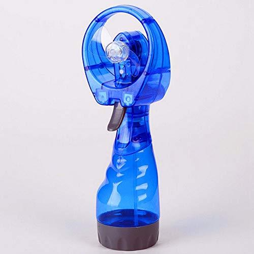 Spray Wasserventilator Handheld Vernebelung Persönlicher Kühlventilator Nebel Luftbefeuchter Sprühflasche Batteriebetriebener Mini Tragbarer Schreibtisch Wasserventilator Für den Außenbereich