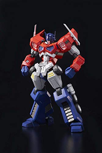 Flame Toys Transformers Figur Furai Model Plastic Model Kit Optimus Prime 15 cm