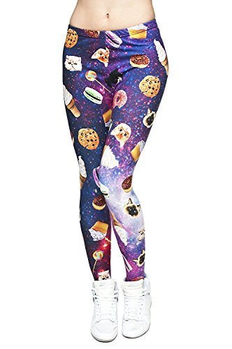 Alive Damen Leggings One size Space Things