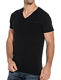 Teddy Smith Men39s Basic V-Neck T-Shirt