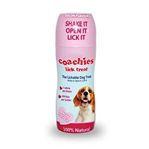 THE COMPANY OF ANIMALS Coachies Lick Friandises pour Chien Bacon 50 ml