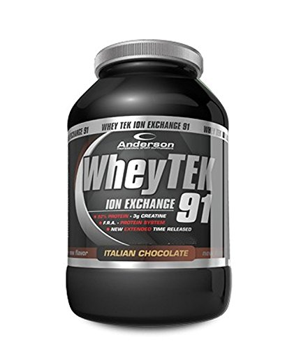 Anderson whey tek 91 integratore di proteine iso protein (2000g, chocolate explosion)