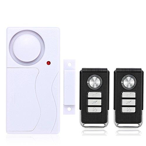 Mengshen Drahtloses Haus-Tür-Fenster Einbrecher-Warnung DIY Sicherheits-Sicherheits-Warnungssystem-magnetischer Sensor mit Fernsteuerungs - 1 Warnung 2 Fernsteuerungs M641
