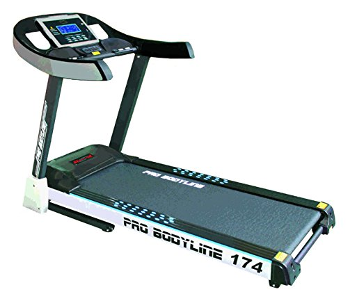 Pro Bodyline Light Commercial(Club Class) AC Treadmill With 6.0 H.P Peak Duty