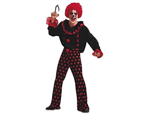Imagen de my other me  disfraz de payaso diabólico, para adultos, talla m l viving costumes mom00268