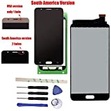General Completa Reparación y reemplazo LCD Display pantalla táctil digitalizador Asamblea para Galaxy J7 Prime G610 G610F SM- G610M/DS SM-610F/DS On7 2016 South America Version (black)