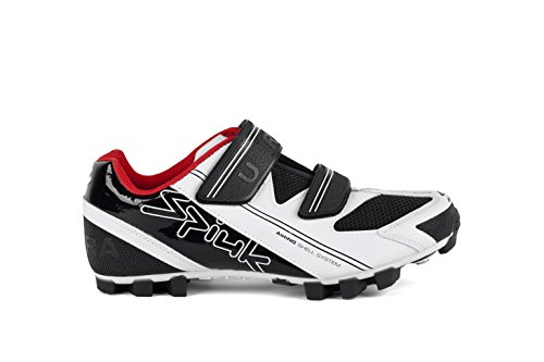 Spiuk Uhra MTB - Unisex Sneakers, Color White / Black, Size 44