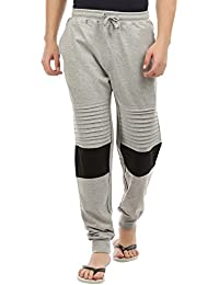 Uddish Men's Cut & Sew Jogger Pant's For Lounge Wear/ Leisure Wear & Sport's Wear