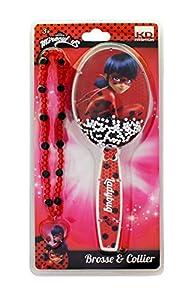 Taldec Miraculous T19801 - Cepillo y Collar, Color Rojo