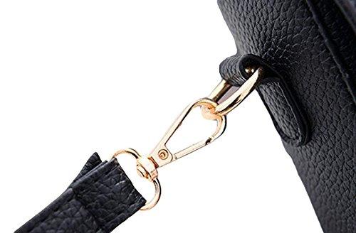 Damen Wilde Umhängetasche Mode Handtasche Kleine Quadratische Tasche Messenger Bag Einfache Atmosphäre Elegant Grey2