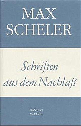 Gesammelte Werke, 16 Bde., Bd.15, Schriften aus dem Nachlaß