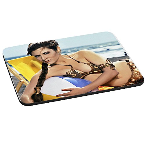 SHOP£SAVE Star Wars Princess Leia Mouse Mat,Pad 220mm x 180mm,5mm Thick