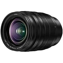 Panasonic LEICA Objectif Zoom Grand Angle pour capteur micro 4/3 10-25mm F1.7 H-X1025E (Grand angle 10mm, Grande ouerture F1.7 constante, Tropicalisé, equiv. 35mm : 20-50mm) Noir - Version Française
