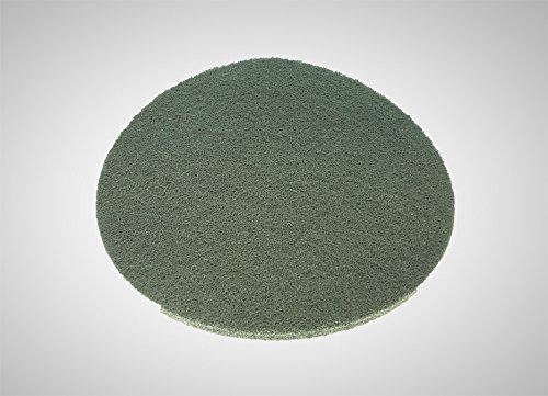 Overmat Floorboy XL300 Poliermaschine Reinigungsmaschine inklusive je 5 Pads zum Reinigen, Einölen und Polieren -