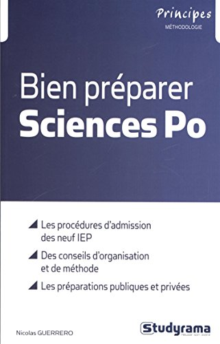Bien prparer sciences Po