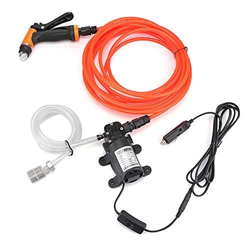 kgftdk Auto Luftpumpe Hochdruck Auto Waschanlage Pumpe Kit Waschkraftpumpe System Kit für Auto Marine Haustier Fenster Klimaanlage Reinigung -