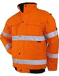 Business & Industrie L Neu Texxor Warnschutz-pilotenjacke Vancouver 4107 Orange Gr