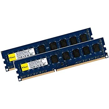 8GB Dual Channel Kit: Elixir Original 2x 4 GB 240 pin DDR3-1333 DIMM (1333Mhz, PC3-10600U, CL9, 256Mx8, NON-ECC, unbuffered) - Part M2F4G64CB8HB5N-CG für alle DDR3 Computer und Core i3 / i7 / i9 Mainboards