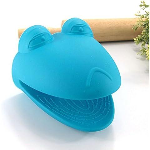 pedgeo (TM) 1pieza, diseño de silicona guante de cocina para horno (manopla soporte para herramientas resistente al calor cocina herramientas B2