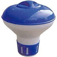 GRUPOSANZ Dosificador Cloro Flotante Mini para Piscina/Cloro dispensador de Pastillas de Cloro para Mantenimiento de Piscina. Ref 1295