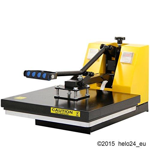 HELO Transferpresse 38 x 38 cm Standard mit Druckausgleichsfedern und verbesserter Hebeltechnik