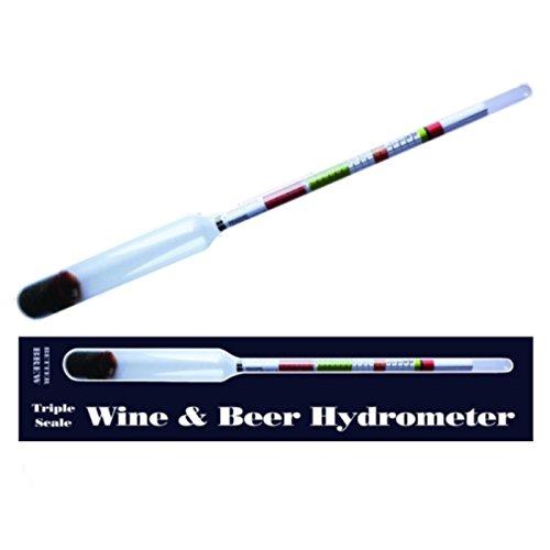Hidrómetro para vino y cerveza