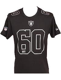 A NEW ERA ERA ERA ERA NFL Number Classic Oakrai Camiseta, Hombre