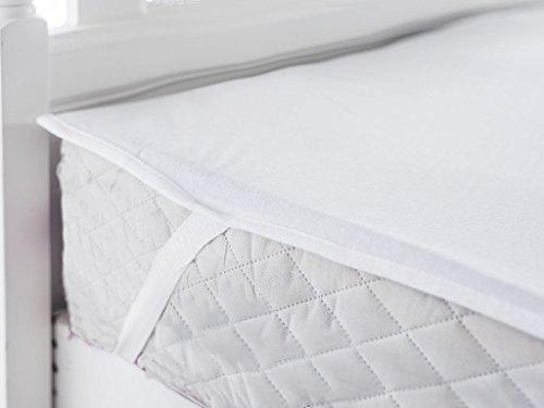 MyHoppi Atmungsaktive Matratzenschoner - 200 x 190/200 cm - Inkontinenzauflage - Wasserundurchlässige Matratzenauflage mit Eckgummies - Matratzenschutz | Hygiene - Schutz