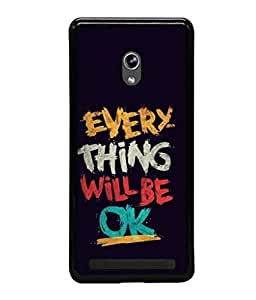 printtech Cool Quotes Back Case Cover for Asus Zenfone 6 A600CG