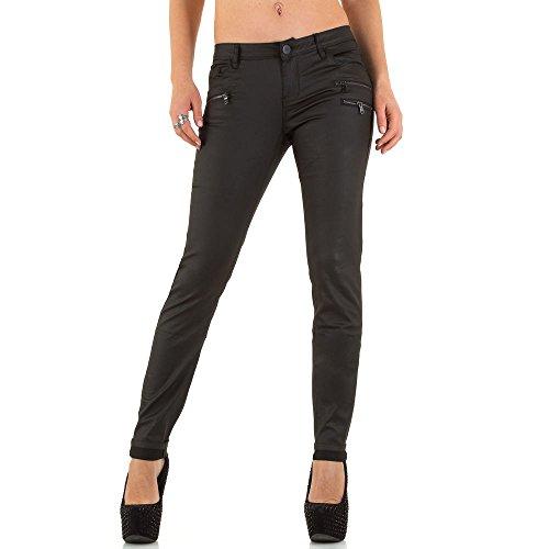 Low Skinny Jeans Für Damen bei Ital-Design Schwarz