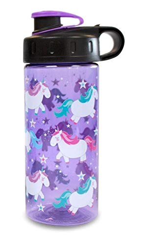 Cool Gear - Botella de Unicornio (9,1 x 6,7 x 18,6 cm), Color Morado