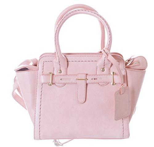 Kawaii-Story LB-149-2 Rosa Trend Damen Kunstleder Henkel Umhänge Hand-Tasche Hand Taschen