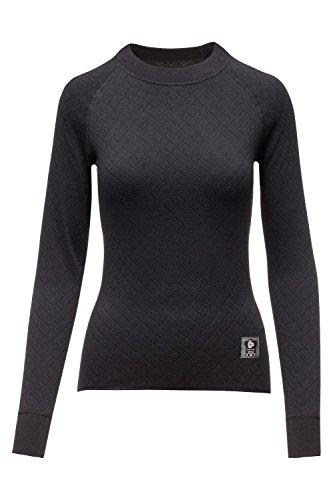 Thermowave Women's 2 in 1-fach, Polyester/Baumwolle, Langarm, Jersey L schwarz -