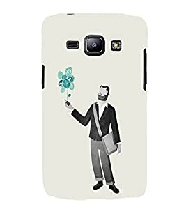 EPICCASE Imagines guy Mobile Back Case Cover For Samsung Galaxy J1 (Designer Case)