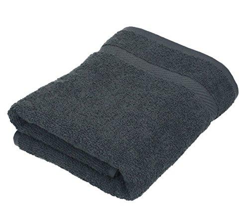 Betz Handtuch Palermo 100% Baumwolle Größe 50x100 cm Gesicht- Hände- Körper- Handtuch Farbe anthrazit -