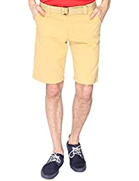 Campus Sutra Men's Cotton Chino Shorts