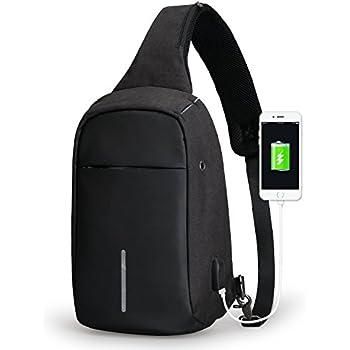 0c08a095f43 Mark Ryden Anti-Theft Sling Shoulder Cross Body Bag Backpack Casual Day  Pack for Men Women