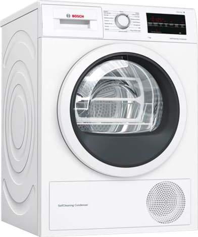 Bosch WTW85448IT sèche-linge Autonome Charge par-dessus Blanc 8 kg A++ - Sèche-linge (Autonome, Charge par-dessus, Pompe à chaleur, Blanc, Rotatif, Tactil, Droite)