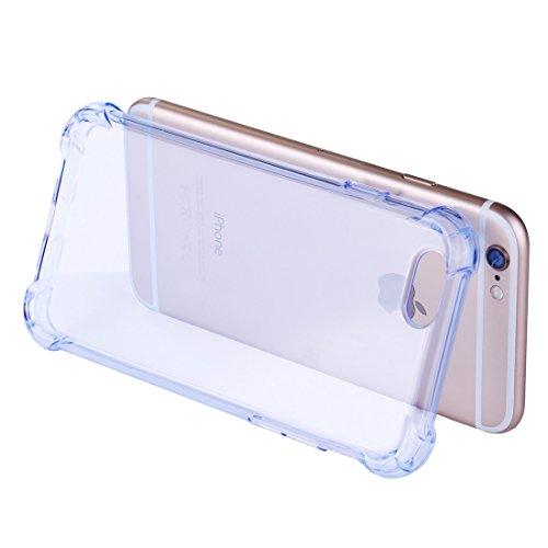 Phone case & Hülle Für IPhone 6 / 6s, Stoßfestes Kissen TPU Schutzhülle ( Color : Green ) Blue