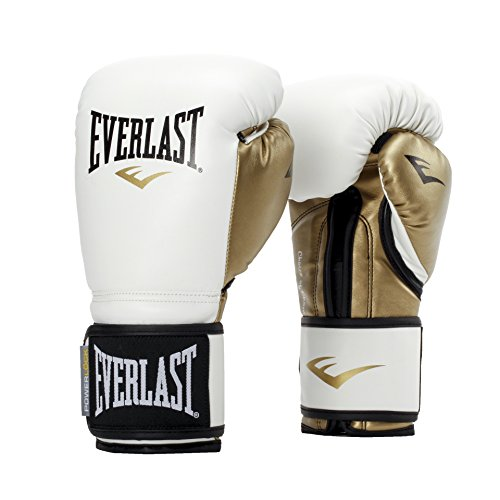 Everlast P00000722 Boxing Gloves (White/Gold)