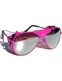 Tedd Haze Pilotenbrille Mountain Pink mit Brillen Beutel
