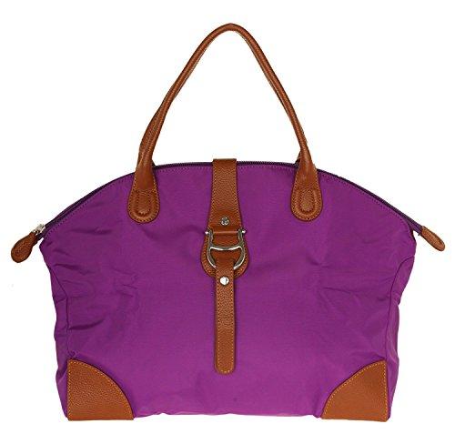 Aigner Small Tote 133080-85-0505Purple Damen Handtasche Vibrant Purple 43cmx29cmx14cm